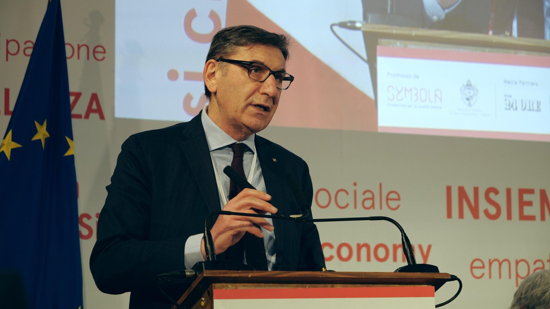 Il Presidente Mauro Lusetti a Sky Tg 24 Economia