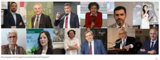 Nove ingressi nel Consigli di amministrazione di Coopfond