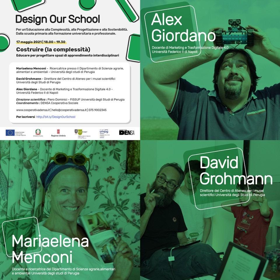 """Coop. DENSA: DYS – Imparare a progettare divertendosi – Azione 1.4.1 del POR-FESR 2014-2020 """"Living Lab nei Capoluoghi di Provincia di Perugia e Terni"""" CUP G93D20000190004"""