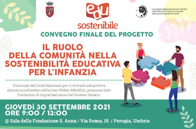 Coop. Borgo Rete: Giovedì 30 settembre ore 09.00/13.00 – Convegno sulla Povertà Educativa nell'Infanzia